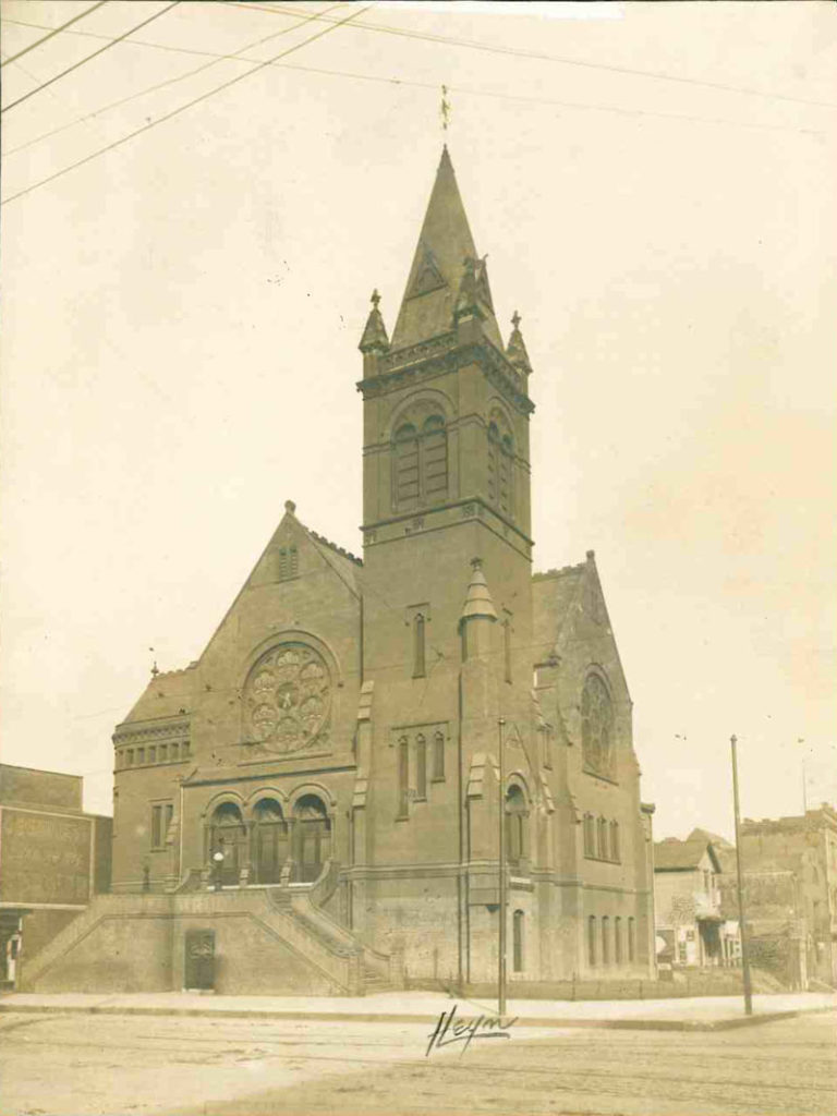 Easter 1885 | Second Building