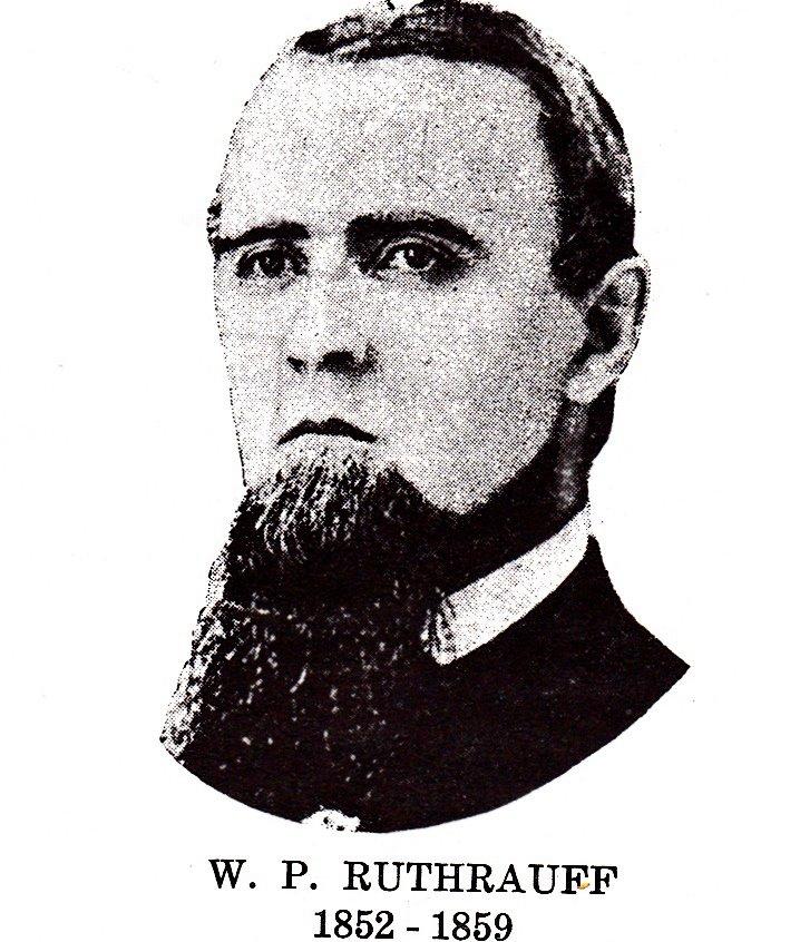 1857 | Rev. W. P. Ruthrauff